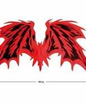 Carnavalskleding duivels vleugels helmond