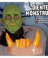 Carnavalskleding eng horror gebit orc monster tanden helmond