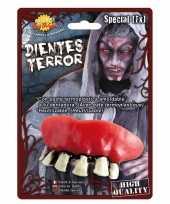 Carnavalskleding eng horror gebit zombie tanden helmond