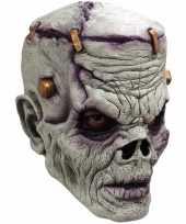 Carnavalskleding enge frankenstein monsters masker helmond