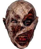 Carnavalskleding enge mummie monsters masker helmond