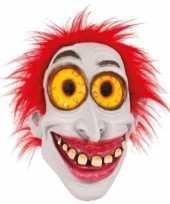 Carnavalskleding feest masker horror scary clown helmond