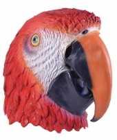 Carnavalskleding feest masker papegaai helmond