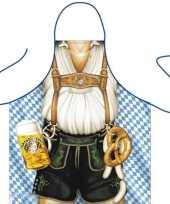 Carnavalskleding funartikel schorten oktoberfest mann helmond