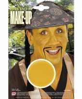 Carnavalskleding gele make up waterbasis helmond