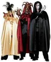 Carnavalskleding gouden heksen mantel volwassenen helmond