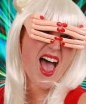 Carnavalskleding grappige bril vingers helmond