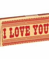 Carnavalskleding grappige kauwgom i love you helmond