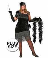 Carnavalskleding grote maten jaren jurk dames helmond