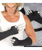 Carnavalskleding halloween handschoenen vingers helmond
