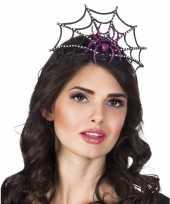 Carnavalskleding halloween spinnenkroon dames helmond
