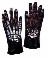 Carnavalskleding handschoenen botten bloed helmond