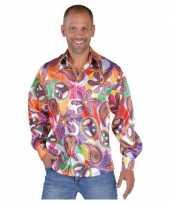 Carnavalskleding hippie shirts heren fun helmond