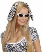 Carnavalskleding honden puppy oortjes dalmatier helmond