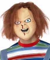 Carnavalskleding horror hoofdmasker chucky helmond