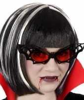 Carnavalskleding horror vleermuis verkleed bril volwassenen helmond