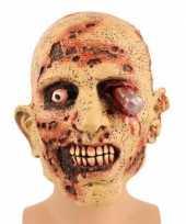Carnavalskleding horror zombie masker helmond