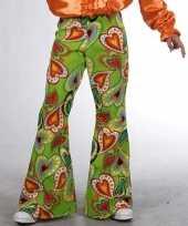 Carnavalskleding kinder broeken hippie hartjes helmond