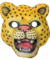 Carnavalskleding kindermasker luipaard helmond