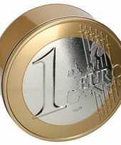 Carnavalskleding koekblikjes euro munten helmond