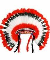 Carnavalskleding luxe hoofdtooien indiaan helmond