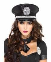 Carnavalskleding luxe politie pet pailletten helmond