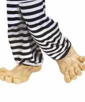 Carnavalskleding mega voeten vinyl helmond