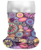 Carnavalskleding morph sjaal hippie print helmond