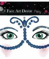 Carnavalskleding oog schmink sticker fee glitters helmond