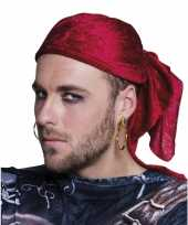 Carnavalskleding oorbel piratenaccessoires helmond