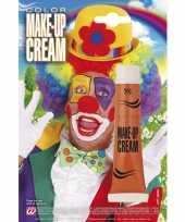 Carnavalskleding oranje schmink creme tube helmond