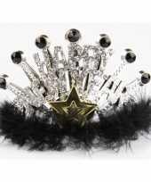 Carnavalskleding oud nieuw tiara bling bling helmond