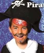 Carnavalskleding piraat schminken schminkset helmond