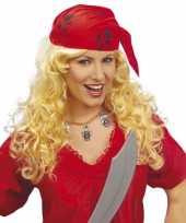 Carnavalskleding piraten pruiken vrouwen helmond