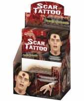 Carnavalskleding plak tattoo littekens helmond