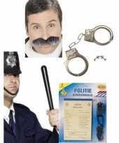 Carnavalskleding politie verkleedsetje dames heren helmond
