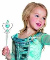 Carnavalskleding prinsessen stafje blauwe diamanten helmond