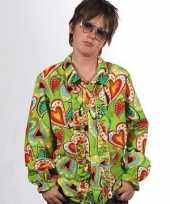 Carnavalskleding rouche hippie blouse hartjes kids helmond