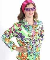 Carnavalskleding rouge hippie blouse peace kids helmond