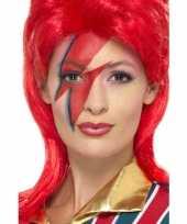Carnavalskleding schmink setje bliksem helmond