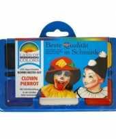 Carnavalskleding schminksetje clown helmond