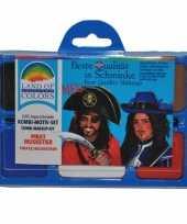 Carnavalskleding schminksetje piraat helmond
