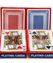 Carnavalskleding set poker kaartspel speelkaarten geplastificeerd helmond