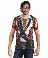 Carnavalskleding shirt piraten shirt opdruk helmond