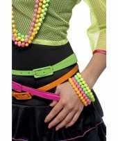 Carnavalskleding sixties armbandjes neon gekleurd stuks helmond 10038444