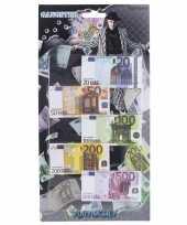 Carnavalskleding speelgoed geld euro biljetten setje headercard helmond
