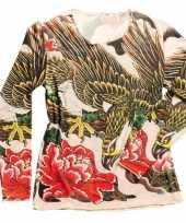 Carnavalskleding tattoo verkleed shirtje dames helmond