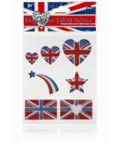 Carnavalskleding tattoo vlag engeland helmond