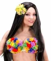 Carnavalskleding tropische bh bloemen helmond 10027729
