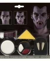 Carnavalskleding vampier gebit tanden kit helmond